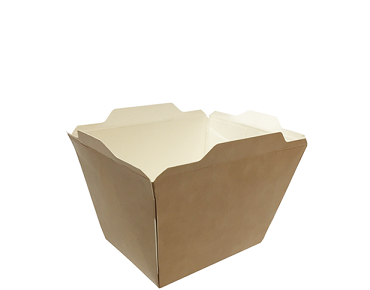 Fuzione Paper Food Tray, Small