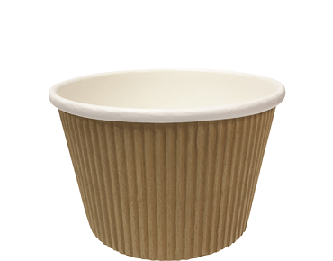 Colpac® Savori™ Textured Hot Pot (450ml Paper Bowl)