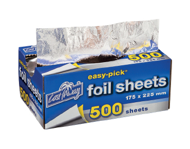 Small Easy-Pick Heavy Duty Cut Aluminium Foil Sheets
