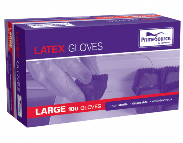 Quick Service Disposable Latex Gloves (Large)