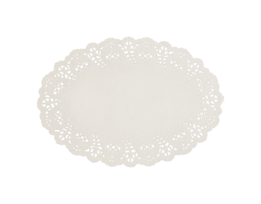 Enviroboard® Lace Doyley, Oval No.1
