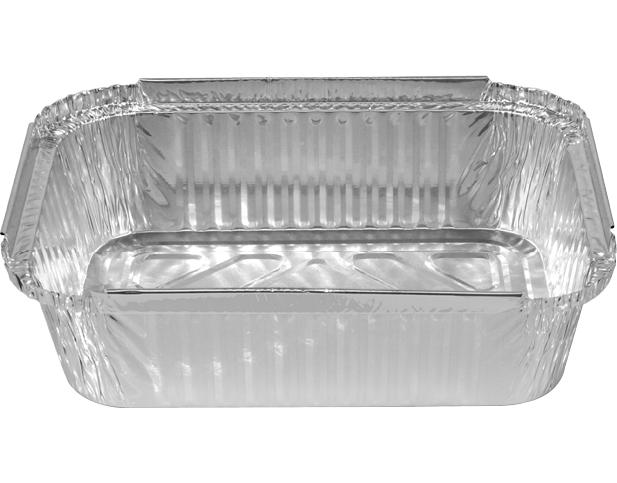 Rectangular Foil Trays Medium Regular Aluminium