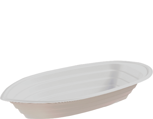 Banana Boat Ice Cream Cup Plastic Container