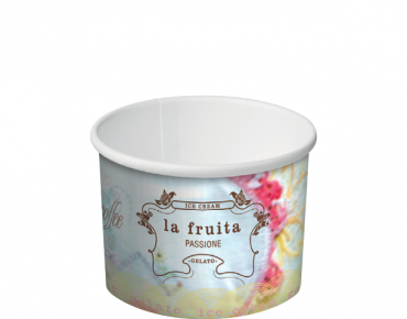 Ice Cream & Gelato Paper Cups (1 Scoop 4 oz)
