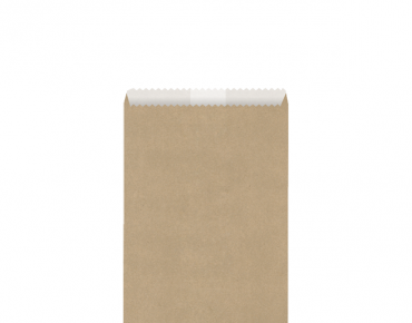 Greaseproof Lined Paper Bags (Size #3 Brown)