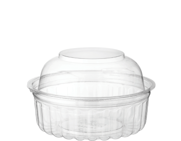 Clearview® Food Bowls with Dome Lid (227ml/8oz)