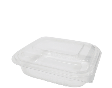 Eco-Smart® BettaSeal® Rectangular Container (Snack Range) , 350ml