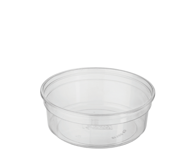 Deli Food Storage (8oz) | Round Plastic Containers