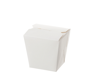 Food Pails without Handles (White 8oz) | Takeaway Food Box