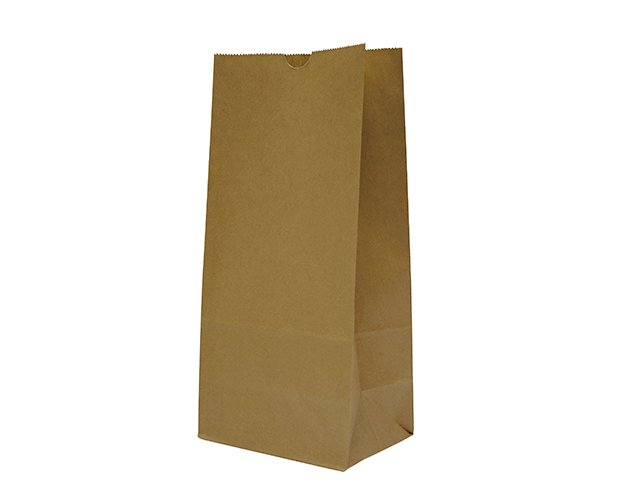 Takeaway Brown Paper Bags Size 12 Block Bottom