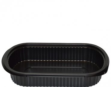 MicroReady® Medium Rectangular Plastic Containers (1 Compartment)