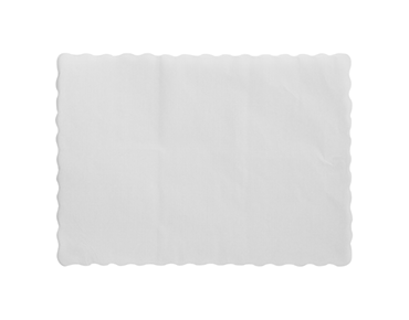 Parego® Placemats with Scalloped Edge (245 x 350 mm)