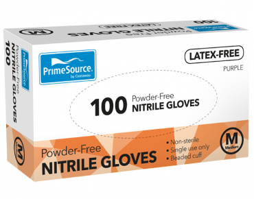 PrimeSource® Powder-Free Nitrile Gloves (Medium)