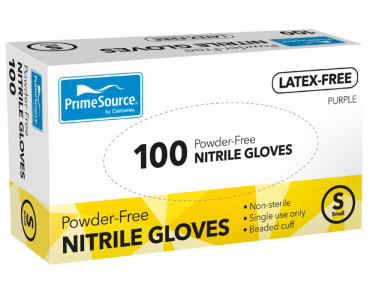 PrimeSource® Powder-Free Nitrile Gloves (Small)