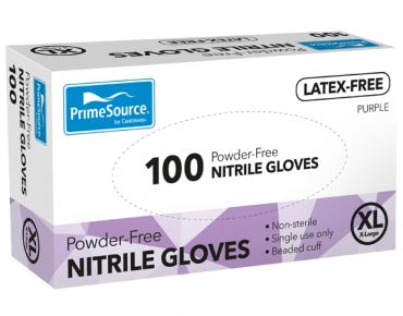 PrimeSource® Powder-Free Nitrile Gloves (Extra Large)